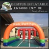 Inflatable Pony Hop Race Track for Horse Riding