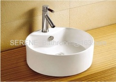Ceramic Counter Top Art Basin