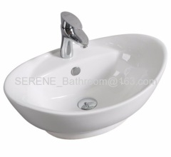 Elegent Ceramic Counter Top Art Basin