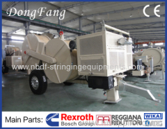 Four Bundled Conductors Stringing Equipments of 14 Ton Tensioners