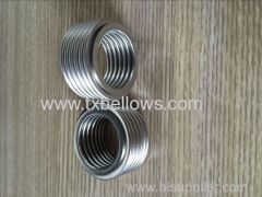 seamless tainless steel 316L bellows