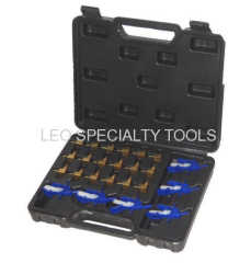 24 pcs Diesel Flow Test Meter Adaptors Set for Common Rail