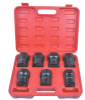 "1/2"" Drive 7pcs Wheel Bearing Locknut Socket Set"