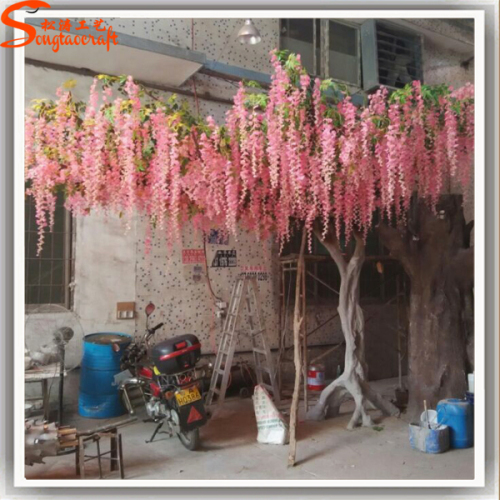 Pink Large Artificial Trees Cherry Blossom For Wedding