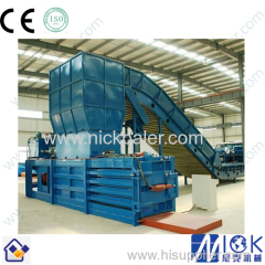 automatic baler for waste paper/cardboard baler horizontal baler automatic baler