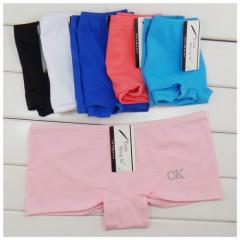 Japan hot sexy fancy net slim boyshort fancy OK printing ladies brief cotton underwear stock women panty