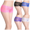 Ultra thin sexy underwear women timeless sexy transparent lace panties for men hot sexy fancy net slim boyshort