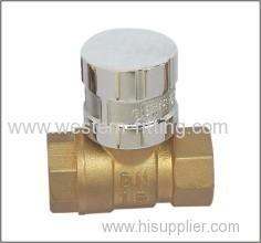 Brass Ball Valve CW615 Material