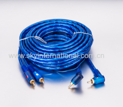 RCA Cable Male To Male 5 Meters Long Gold Plated