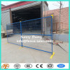 6 feet square tube PVC coated temporary fence connector with top and base