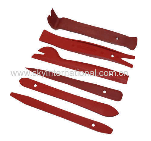 6 PCS TRIM REMOVAL TOOL KIT DOOR PANEL INTERIOR WEDGE PRY CLIP HEAVY DUTY