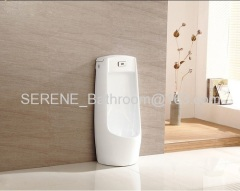 Automatic Sensor Flushing Bathroom Ceramic Stand On Floor Urinals