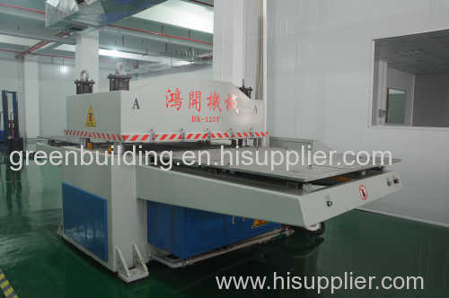 Hydraulic double position cutting machine