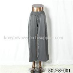 SD2-8-001 Latest Popular Knit Fashion Elastic Strip Loose Pants