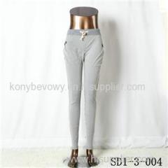 SD1-3-004 Women Fashion Sexy Woven Printing High-waist Slimming Leggings