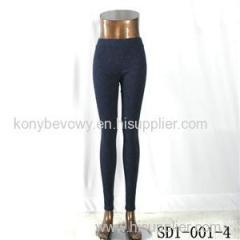 SD-001-4 Fashion Dark Color Cashew Low-waist Slim Lady Leggings