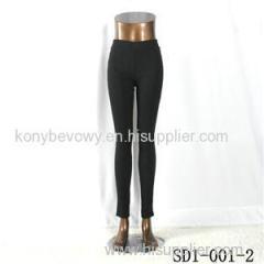 SD-001-2 Fashion Black Low-waist Slim Lady Leggings