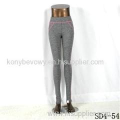 SD4-54 Knit Solid Color All-match Running Outdoor Women Leggings