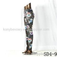 SD4-9 Fashion Sport High-waist Flower Yoga Leggings