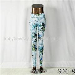 SD4-8 Fashion Sport High-waist Forest Yoga Leggings