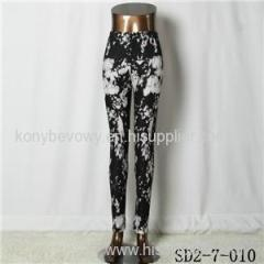 SD2-7-010 Fashion Knit Slim Bandhnu Style Leggings