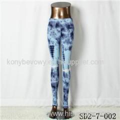 SD2-7-002 Fashion Knit Skinny Bandhnu Style Leggings