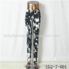 SD2-7-001 Fashion Knit Slim Bandhnu Style Leggings