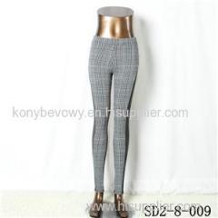 SD2-8-009 Latest Popular Knit Fashion Elastic Montage Leggings