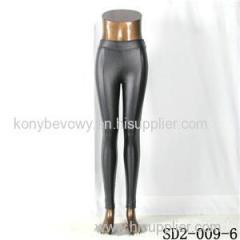 SD2-9-006 High-elastic Slim Fashion Light Yogon Sexy Montage PU Leggings