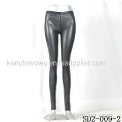 SD2-9-002 High-elastic Slim Fashion Light Yogon PU Snake Leggings