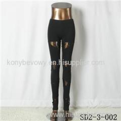SD2-3-002 Popular Fashion Cotton Montage Special Leggings