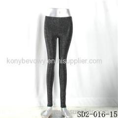 SD2-16-015 Low-waist Sliver Mosaic Fashion Slim Leggings