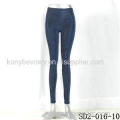 SD2-16-010 Royal-blue Knit Fashion Leggings