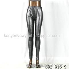 SD2-16-009 Fashion Knit Sliver Stripe Slim Leggings