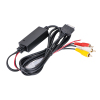 6 FT 3.5mm Male to 3 RCA Camcorder/Video Ipod Cable NEW
