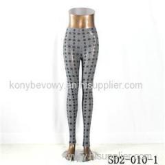 SD2-10-001 Latest Fashion Knit Jacquard Low-waist Slim Leggings