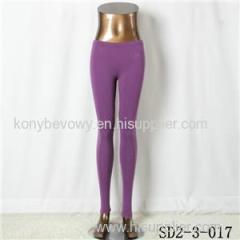 SD2-3-017 Latest Popular Pure Cotton Knit Low-waist All-match Leggings