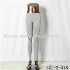 SD2-3-016 Latest Popular Pure Cotton Knit Low-waist All-match Leggings