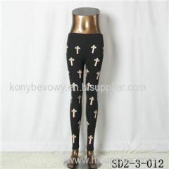 SD2-3-012 Latest Popular Pure Cotton Knit All-match Leggings