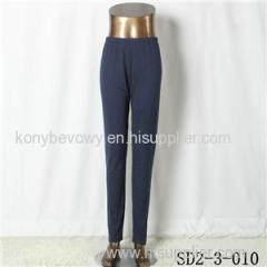 SD2-3-010 Latest Popular Pure Cotton Solid Color All-match Leggings