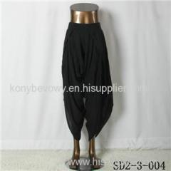SD2-3-004 Hot-sale New Style Sexy High-waist Cotton Loose Pants