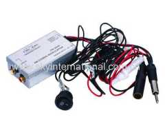 Factory Radio Stereo Aux RCA Audio Input Adapter Wired FM Modulator