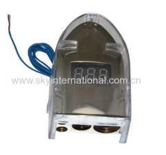 12V digital display Positive 0/8 Gauge AWG Car Battery Terminal