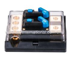 60 Amp DUAL In-Line Circuit Breaker/ Power distribution block