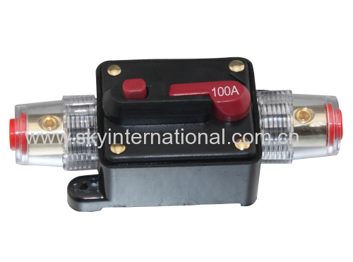Car Audio Inline Circuit Breaker Fuse for 12V Protection