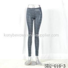 SD2-16-003 Royal-blue Sliver Fashion Slim Leggings