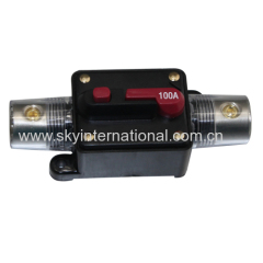 Car Audio Inline Circuit Breaker Fuse for 12V Protection 0GA