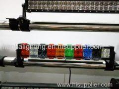 blue/amber/black/white/red/green offroad light bars lens covers