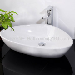 Popular Design Sanitary ware Ceramic Counter Top Sink