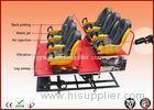 6 DOF Hydraulic 6 Seat 6D Cinema Equipment XD Movie Theater 220 Volt